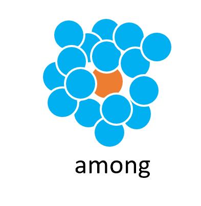 前置詞amongの基本イメージ